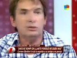 Beto Cesar llora en Intrusos