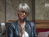 Véronique Massonneau interroge la ministre du Droit des femmes lors du débat sur l'égalité hommes/femmes