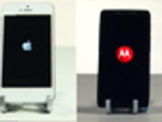 Motorola Razr i vs iPhone 5 Speed Test