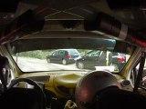 Rallye des cévennes 2012 - ES11 - Col du Mercou - SALINAS / MICHELI