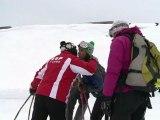 Premières descentes à ski aux Sept Laux