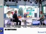 Zapping Actu du 01 Novembre 2012 - Gérard Longuet et son bras d'honneur, Sandy et ses dégats