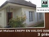 A vendre - maison - CREPY EN VALOIS (60800) - 3 pièces
