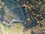 Vol en parapente depuis le Puy-de-Dôme (30/10/12)