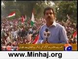 Geo News -Dr.Tahir-ul-Qadri calls against corrupt electoral system