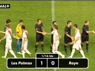 UD Las Palmas 1 Rayo 0 - Vídeos de Copa del Rey UD las Palmas de la UD Las Palmas