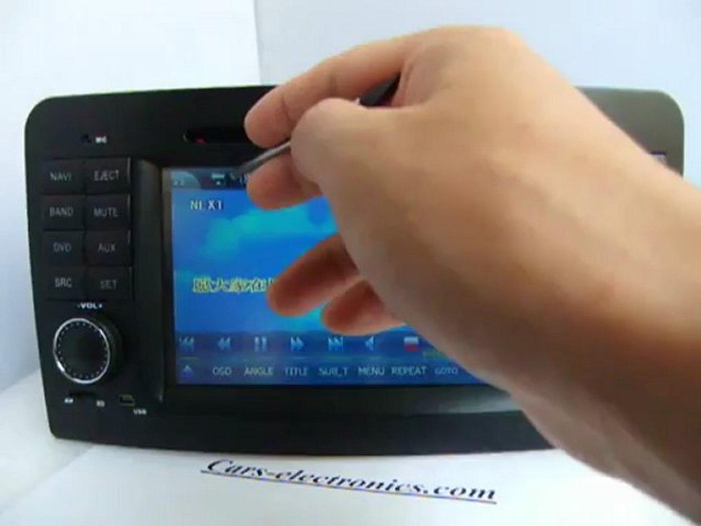 Mercedes Benz ML320 W164 DVD Player GPS nav Headunit