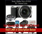 Sony Alpha Nex-5N Kit with 18-55mm & 16mm Lenses. Package Includes: Sony Nex5N Digital Camera, 18-55mm Sony Lens, 16mm Lens, Extended Life Battery, Rapid Travel Charger, 16gb Memory Card, Memory Card Reader, HDMI Cable, Remote Control, SSE Microfiber