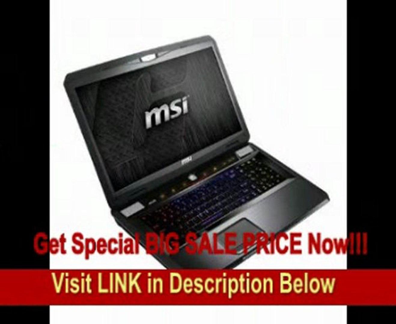 MSI GT70 0ND-219US i7-3820QM 2 7GHz-3 7GHz 16GB 512GB SSD Nvidia 4GB GTX  675M
