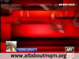 MQM leader Wasay Jalil on martyrdom of Jalil Ur Rehman