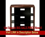 SPECIAL DISCOUNT BDI Valera 9721 Single Wide Tall Open TV Stand (Chocolate Stained Walnut)