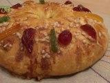 Gâteau des rois ou Brioche des rois - 750 Grammes