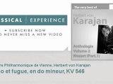 Wolfgang Amadeus Mozart : Adagio et fugue, en do mineur, KV 546 - ClassicalExperience