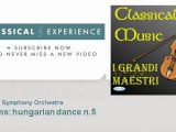 Johannes Brahms   Brahms  hungarian dance n 5 - ClassicalExperience