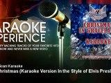 All American Karaoke - Blue Christmas - Karaoke Version In the Style of Elvis Presley