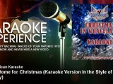 All American Karaoke - I'll Be Home for Christmas - Karaoke Version In the Style of Elvis Presley