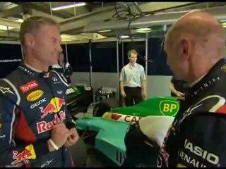 F1 - Adrian Newey guida Red Bull e Leyton House