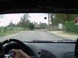 ES6 LAVERNOY Rallye Bourbonnes Les Bains 2012 caméra embarquée