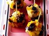 Bien déjeuner dans ma boîte - Bouchées de foie gras aux fruits secs