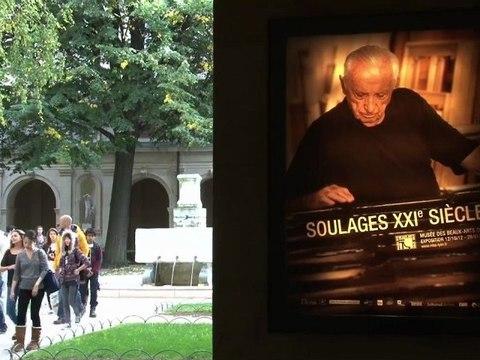 Comprendre l'exposition Soulages