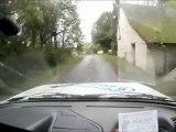 Rallye de l'Indre 2012 caméra embarquée 205 GTI 1.9L ES 1 Equipage n°42