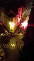 PSG-Zagreb : une bataille rangée de hooligans à Bastille