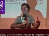 Agnès Bénassy-Quéré aux Economiques de Turgot (2012) - Première partie - Les raisons de la crise - Réactions à la crise - L'exemple grec