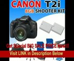 BEST BUY Canon EOS Rebel T2i T2-i (550d) Digital SLR Camera with Canon 18-55mm Is Lens, 2x Extended Battery, 8gb Sdhc Memory, Hdmi Cabel and More - Professional Shooter Kit