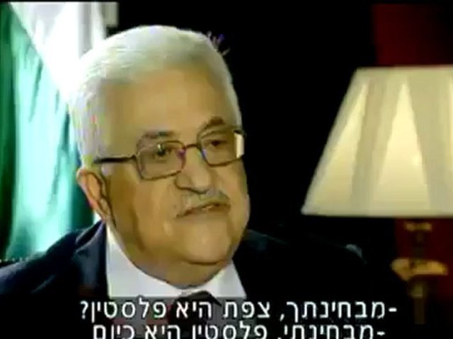 Abbas interview with Israel's Channel 2