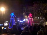 Two men,Two Tesla coils,special suits = ELECTRICITY FIGHT