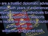 Second Passport, johnwayne1@accountant.com ,Second Citizenship, Diplomatic Passport
