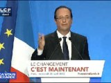 Reportages : Jour J pour le grand oral de François Hollande