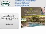 Achat Vente Appartement  Albigny sur Saône  69250 - 67 m2