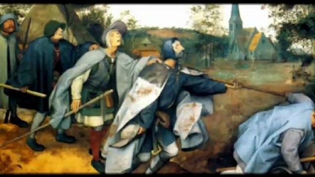 """""""The Blind Leading The Blind"""" by Pieter Bruegel the Elder"""