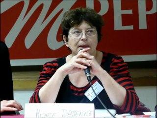 UA2012M'PEP - Réu publique CNR - Conclusion de Michèle DESSENNE (M'PEP) - 3 nov. 2012 à Aix-en-Provence