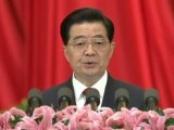 Chinese president opens party congress ahead of leadership change.