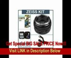 BEST BUY Zeiss 50mm f/1.4 Planar T* ZE Series Lens Kit for Canon EOS Cameras with Tiffen 58mm Photo Essentials Filter Kit, Lens Cap Leash, Professional Lens Cleaning Kit,