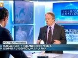 Les Français sont en majorité favorables au mariage homosexuel, pas à l'adoption