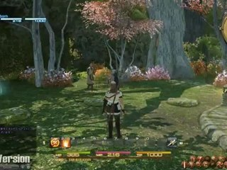 Gridania (Alpha) de Final Fantasy XIV: A Realm Reborn