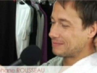 Séance photo avec Stéphane Rousseau: maquillage et coiffure.