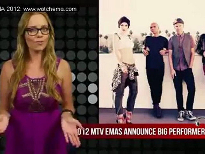 Colombia Naty Botero MTV EMA 2012