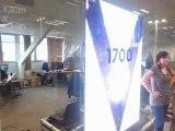 Nouveaux écrans vitrines slim LED pitch 4 (ultra fins & totalement silencieux)