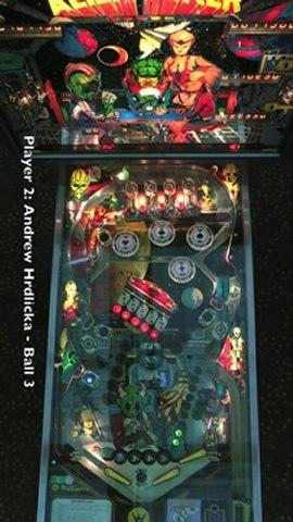 ALIEN POKER Pinball Table (Williams 1980) - Pinburgh 12 C Division Final (Game 4)