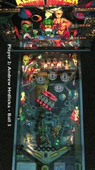 ALIEN POKER Pinball Table (Williams 1980) - Pinburgh 12 C Division Final (Game 4)