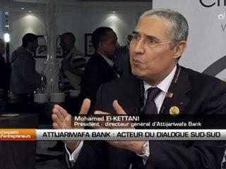 Mohamed El Kettani, président directeur-général du groupe Attijariwafa Bank