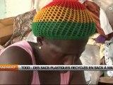 Togo: Des sacs plastiques recyclés en sacs à main