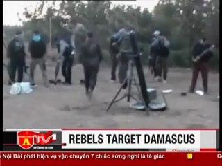 ANTÐ - Quân nổi dậy Syria nã đạn vào dinh Tổng thống