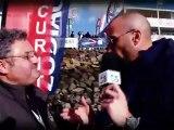 """""""Place to be Vendée Globe"""" Alonzo et Didier Elin directeur de """"Team Plastique"""""""