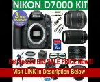 SPECIAL DISCOUNT Nikon D7000 Digital Camera + Nikon 18-55 VR Zoom Lens + Nikon 70-300 Telephoto Zoom Lens + Nikon 50mm Lens + .40x Super Wide Angle Fishe Fisheye Lens + 2x Telephoto Lens + 4 Piece Macro Kit + 16GB Memory Card + 3 Year Celltime Warranty