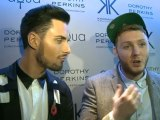 X FACTOR: James Arthur and Rylan Clark gossip